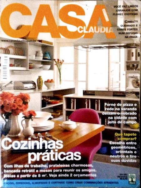 Ateliê Ana Cordeiro - Publicações 15 / Revista Casa Claudia ANO 26 abril