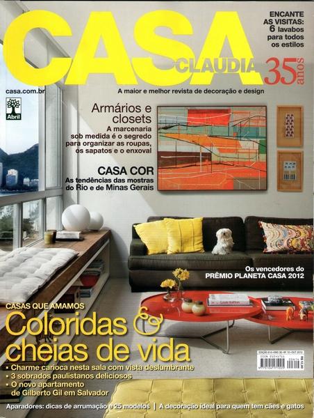 Ateliê Ana Cordeiro-Publicações 4/ Revista Casa Claudia ANO 36 outubro