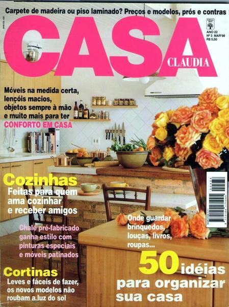 Ateliê Ana Cordeiro - Publicações 10/ Revista Casa Claudia ANO 22 março