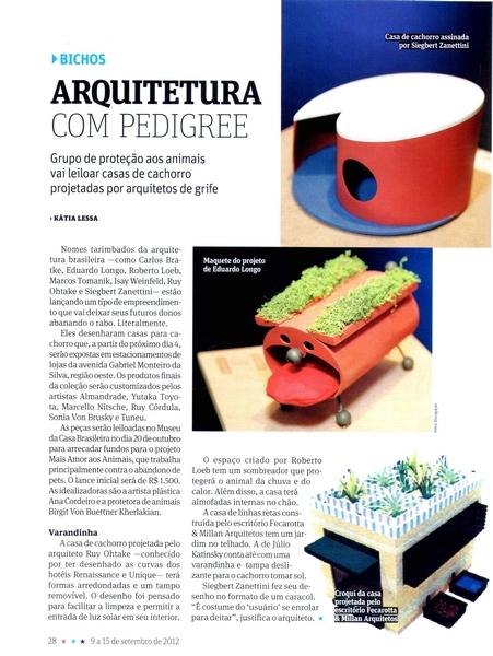 Ateliê Ana Cordeiro - Publicações 25b/ Revista da Folha SET 2012
