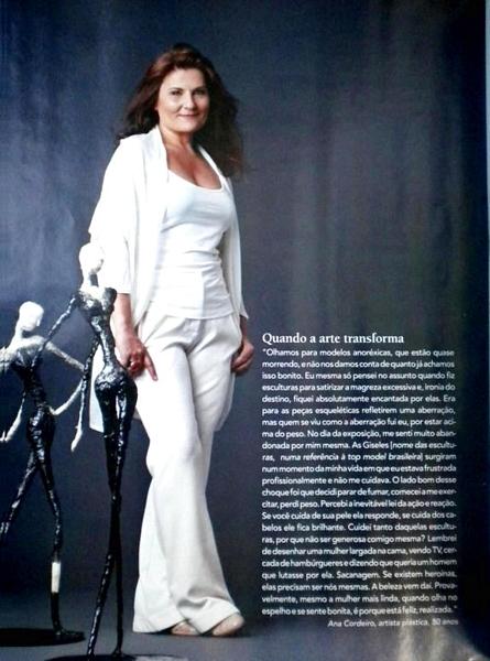 Ateliê Ana Cordeiro - Publicações 26b / Revista Bons Fluidos - ANO 17 - junho