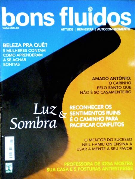 Ateliê Ana Cordeiro - Publicações 26/ Revista Bons Fluidos - ANO 17 - junho