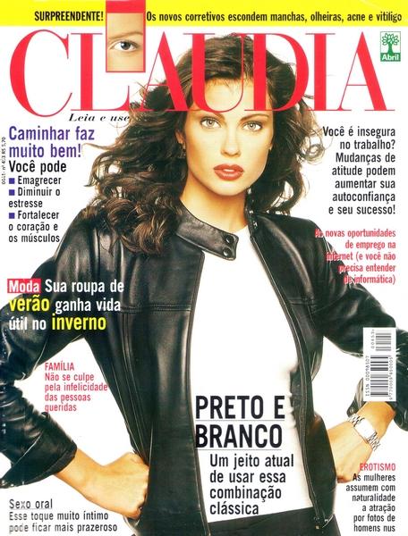 Ateliê Ana Cordeiro - Publicações 22 / Revista Claudia ANO 38 junho
