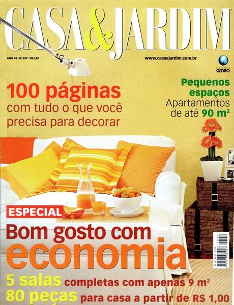 Ateliê Ana Cordeiro - Publicações 23 / Revista CASA&JARDIM ANO 48 agosto