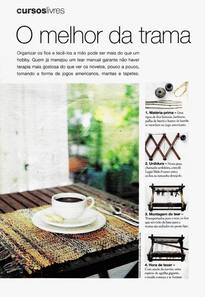 Ateliê Ana Cordeiro- Publicações 5b/ Revista Casa Claudia - ANO 28 abril