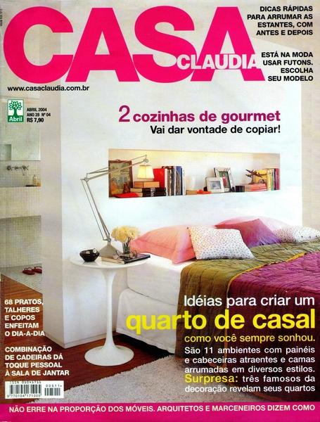 Ateliê Ana Cordeiro- Publicações 5/ Revista Casa Claudia - ANO 28 abril