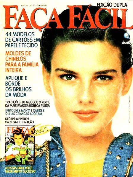Ateliê Ana Cordeiro – Publicações 30/ Revista Faça Fácil ANO Vll n 75