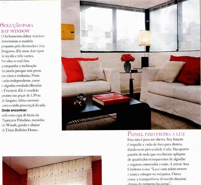 Ateliê Ana Cordeiro - Publicações 9/ Revista Casa Claudia ANO 24 agosto