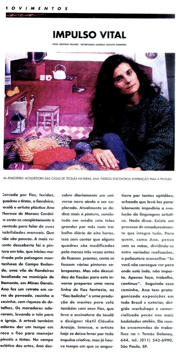 Ateliê Ana Cordeiro - Publicações 31b / Revista Faça Fácil ANO XII N 126