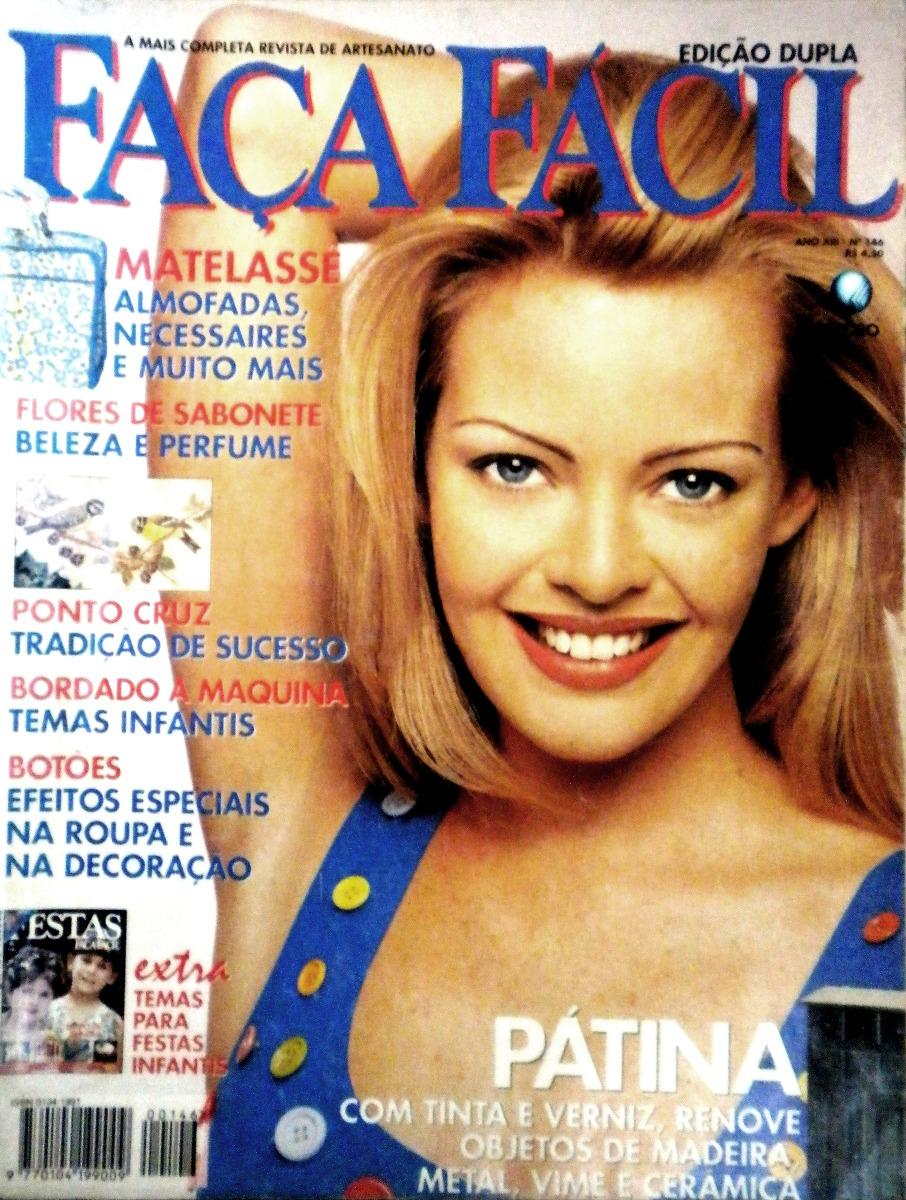 Ateliê Ana Cordeiro - Publicações 35/ Revista Faça Fácil -ANO XIII- N 146